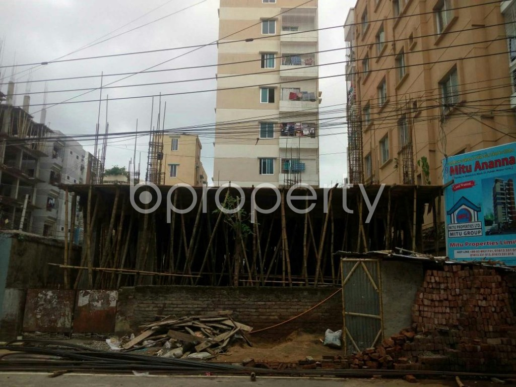 Front view - 3 Bed Apartment for Sale in Mirpur, Dhaka - 1902708