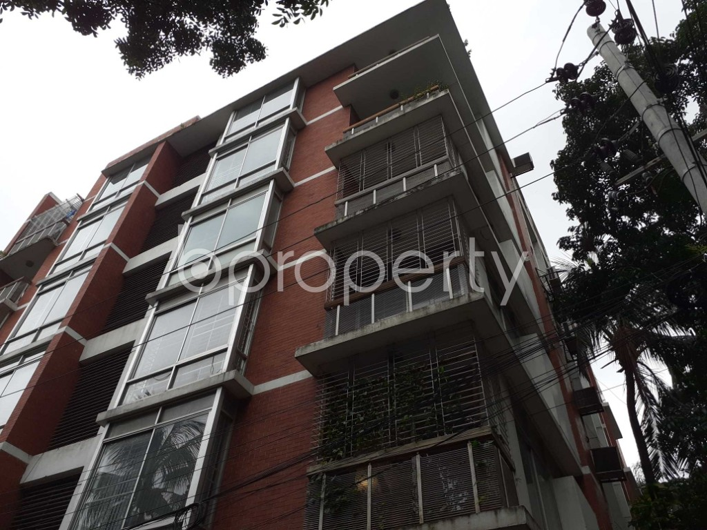 Outside view - 3 Bed Apartment to Rent in Gulshan, Dhaka - 1902744