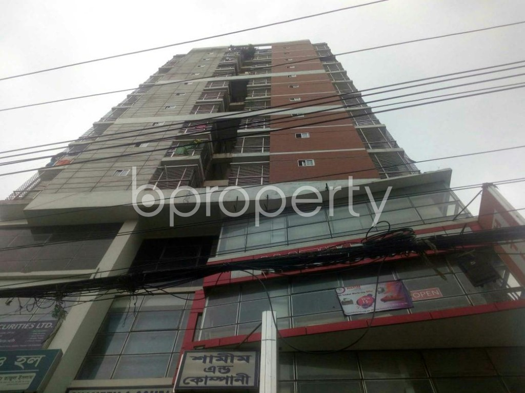 Front view - Shop to Rent in Malibagh, Dhaka - 1902770