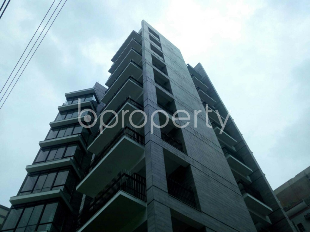 Outside view - 3 Bed Apartment for Sale in Bashundhara R-A, Dhaka - 1902916