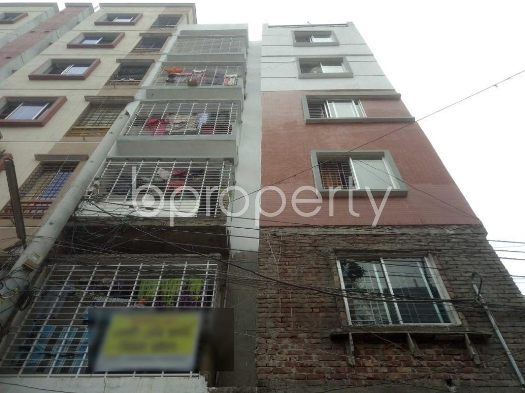 Front view - 2 Bed Apartment for Sale in Mirpur, Dhaka - 1902974