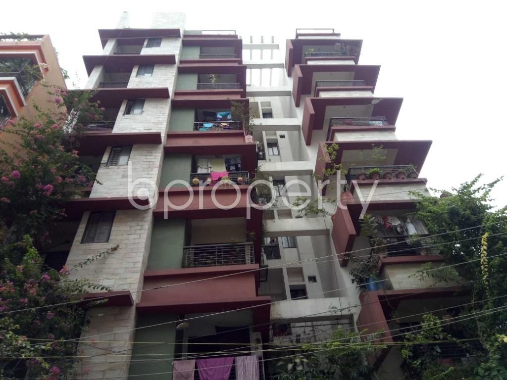 Front view - 3 Bed Apartment for Sale in Uttara, Dhaka - 1902986