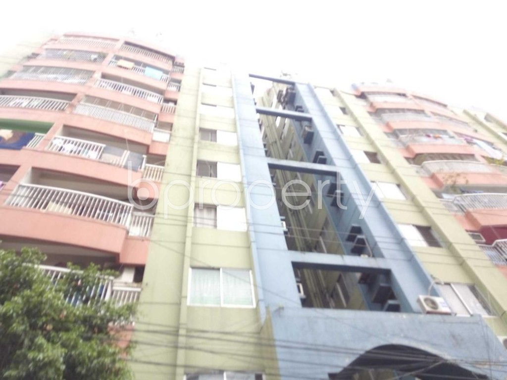 Front view - 3 Bed Apartment for Sale in Sutrapur, Dhaka - 1903065