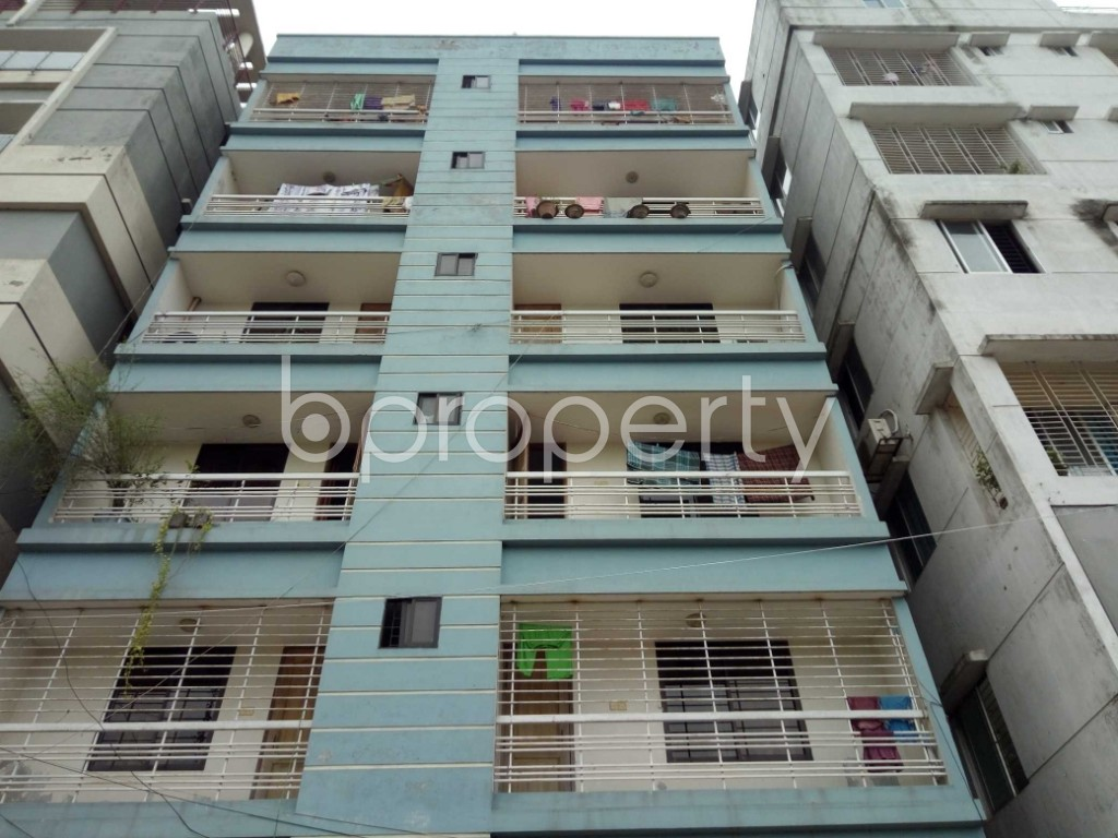Front view - 2 Bed Apartment for Sale in Uttara, Dhaka - 1903077