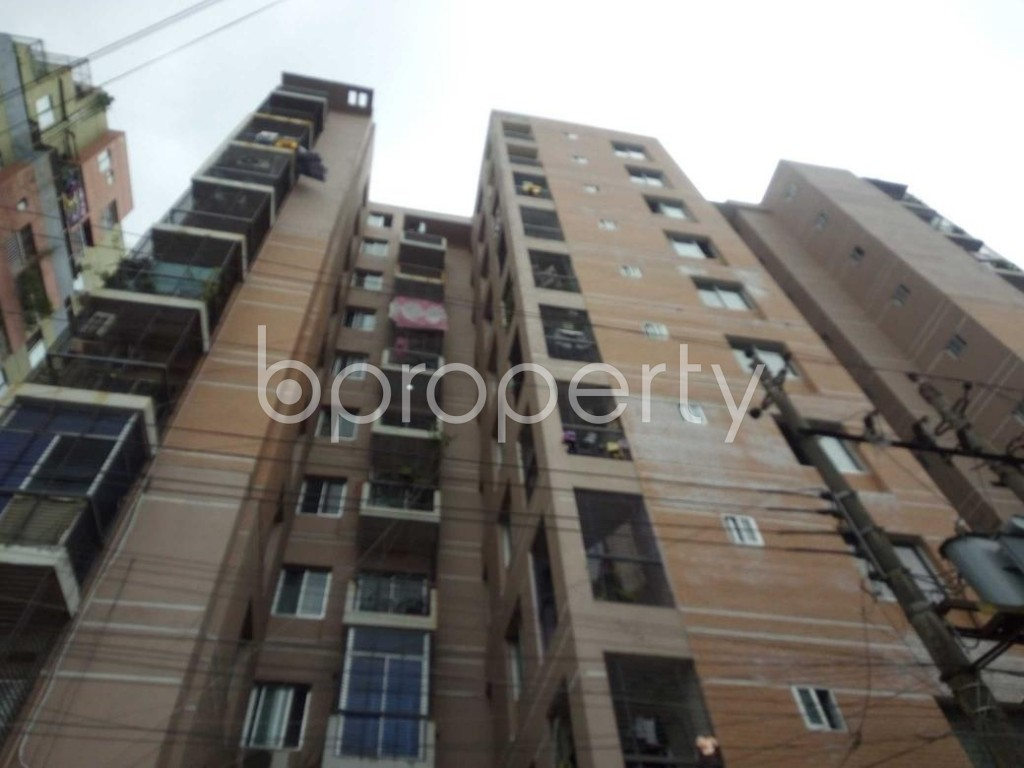 Front view - 3 Bed Apartment for Sale in Sutrapur, Dhaka - 1903123