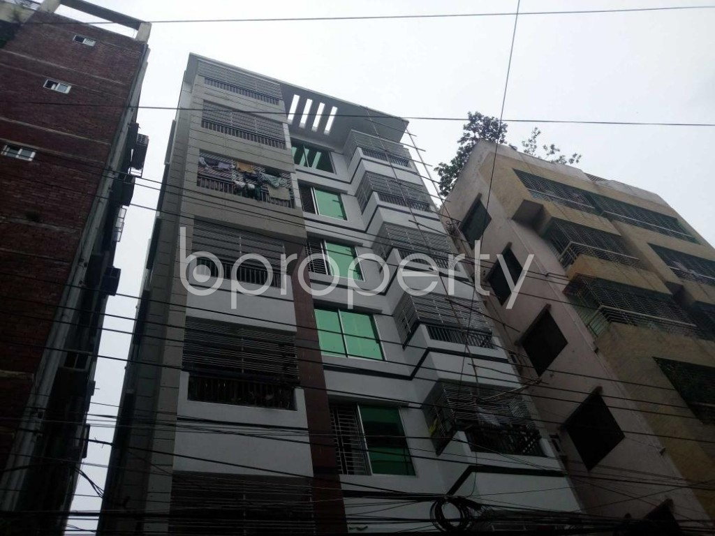 Front view - 3 Bed Apartment for Sale in Uttara, Dhaka - 1903153