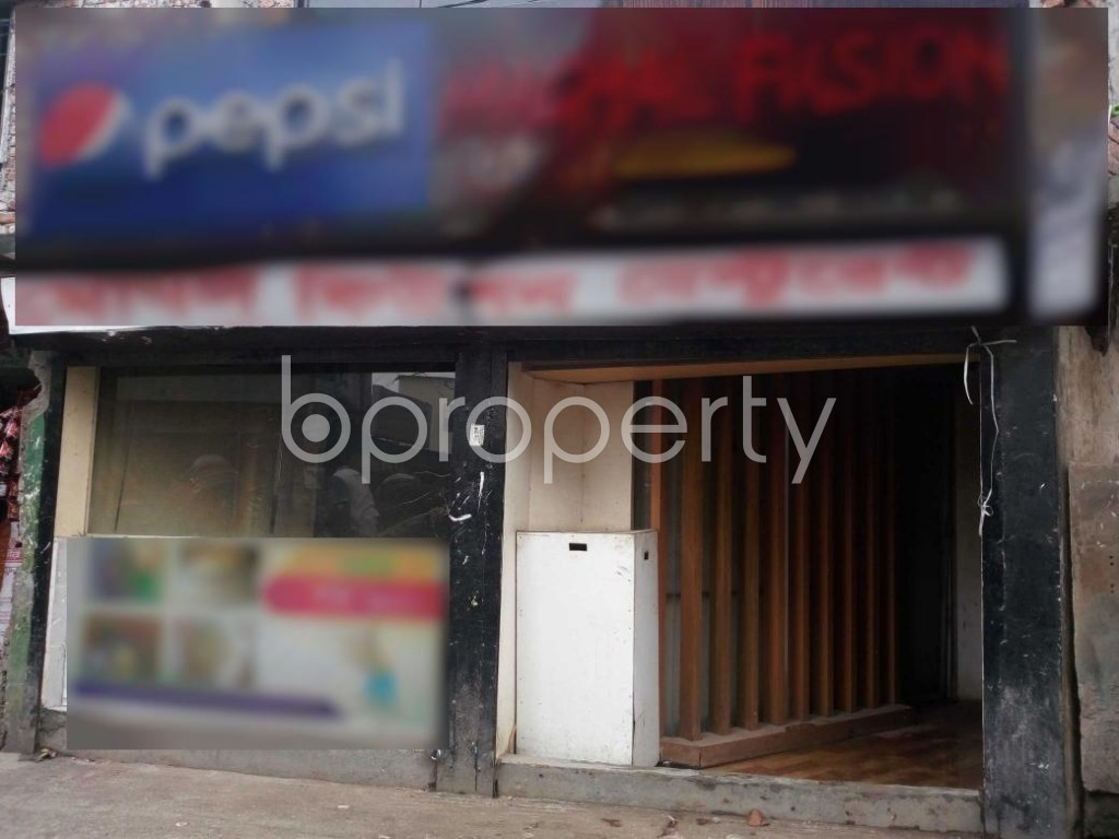Front view - Shop to Rent in Kuril , Dhaka - 1903210