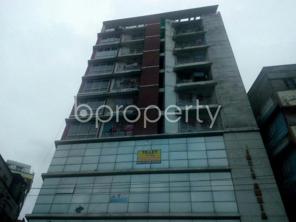 Front view - Office to Rent in Rampura, Dhaka - 1903221