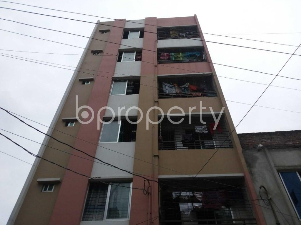 Front view - 2 Bed Apartment for Sale in Mirpur, Dhaka - 1903231