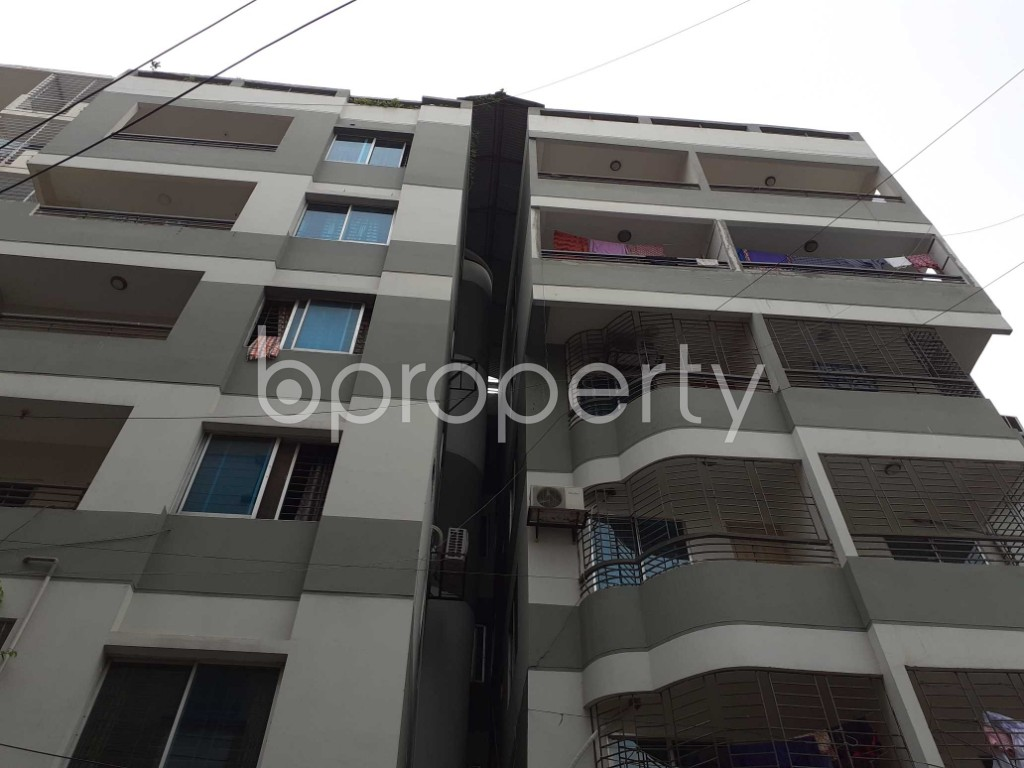 Front view - 3 Bed Apartment to Rent in Uttara, Dhaka - 1903286