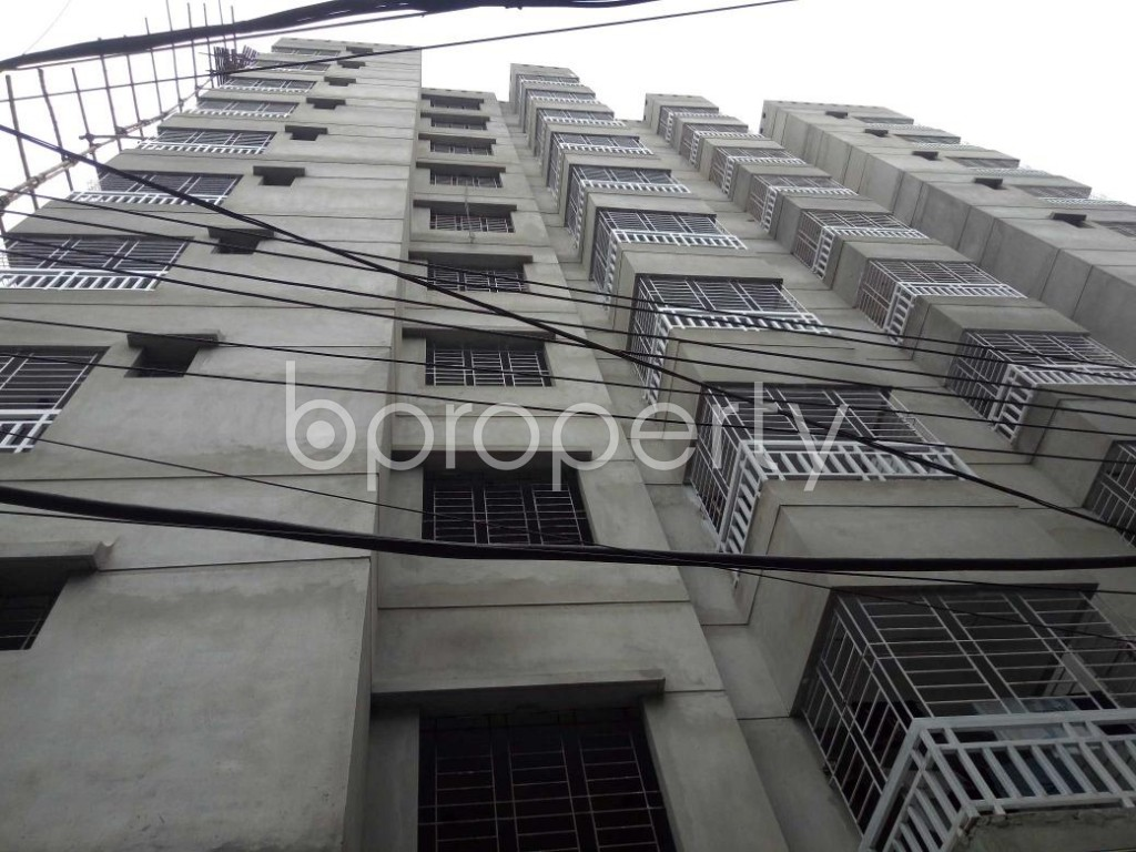 Front view - 3 Bed Apartment for Sale in Dhanmondi, Dhaka - 1903370