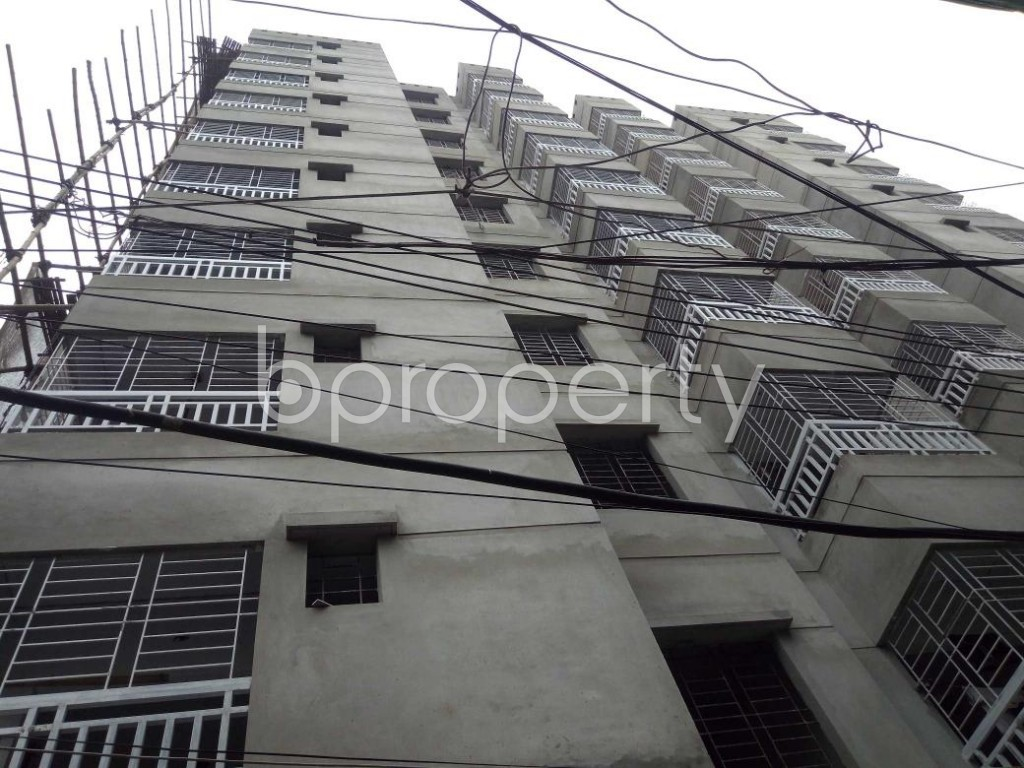 Front view - 3 Bed Apartment for Sale in Dhanmondi, Dhaka - 1903378