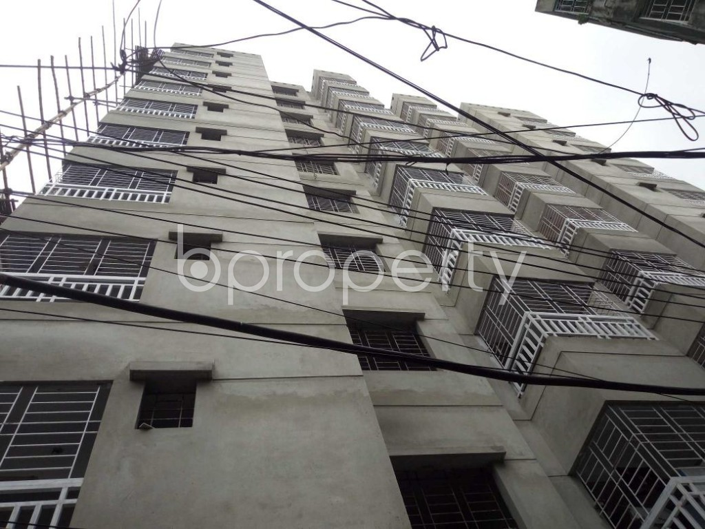 Front view - 3 Bed Apartment for Sale in Dhanmondi, Dhaka - 1903383
