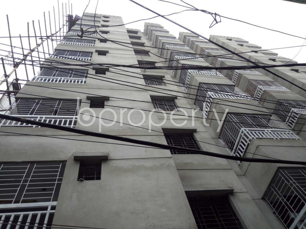 Front view - 3 Bed Apartment for Sale in Dhanmondi, Dhaka - 1903388