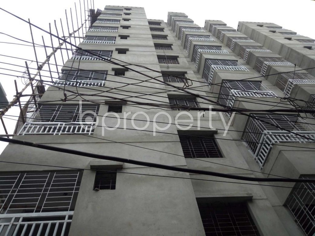 Front view - 3 Bed Apartment for Sale in Dhanmondi, Dhaka - 1903394