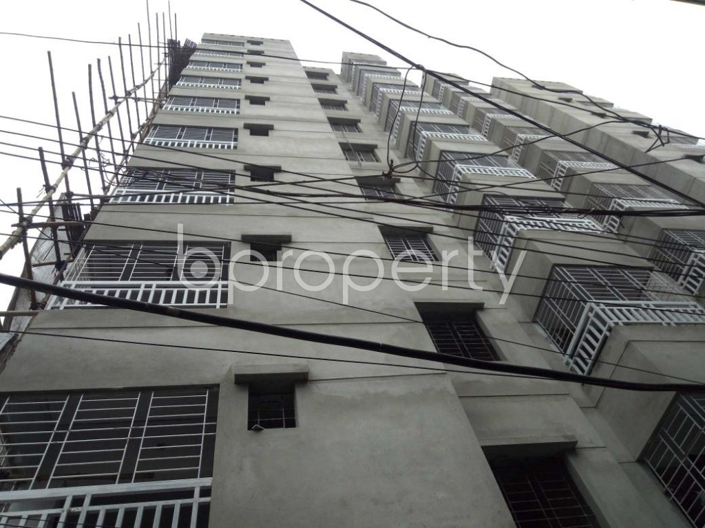 Front view - 3 Bed Apartment for Sale in Dhanmondi, Dhaka - 1903397