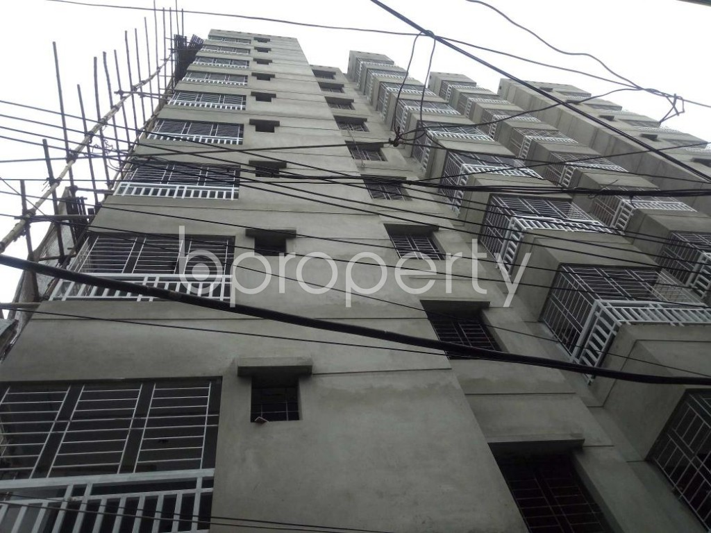 Front view - 3 Bed Apartment for Sale in Dhanmondi, Dhaka - 1903399