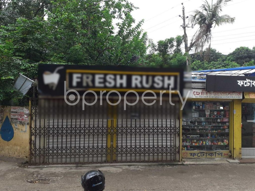 Bathroom - Shop to Rent in Kafrul, Dhaka - 1903401