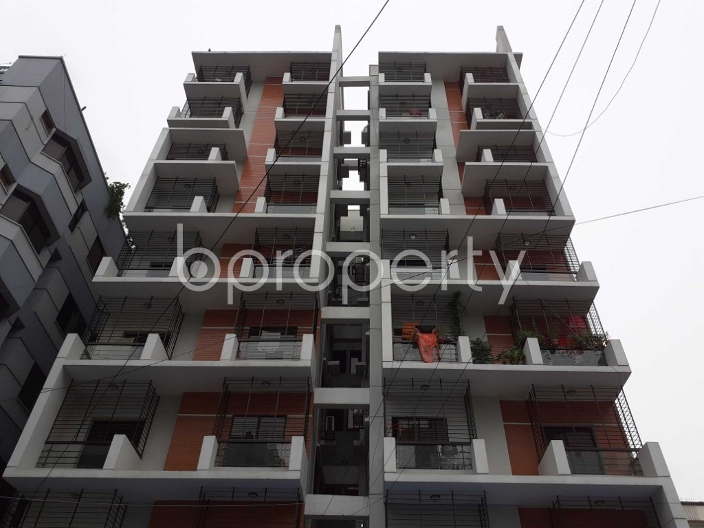 Front view - 3 Bed Apartment for Sale in Uttara, Dhaka - 1903420
