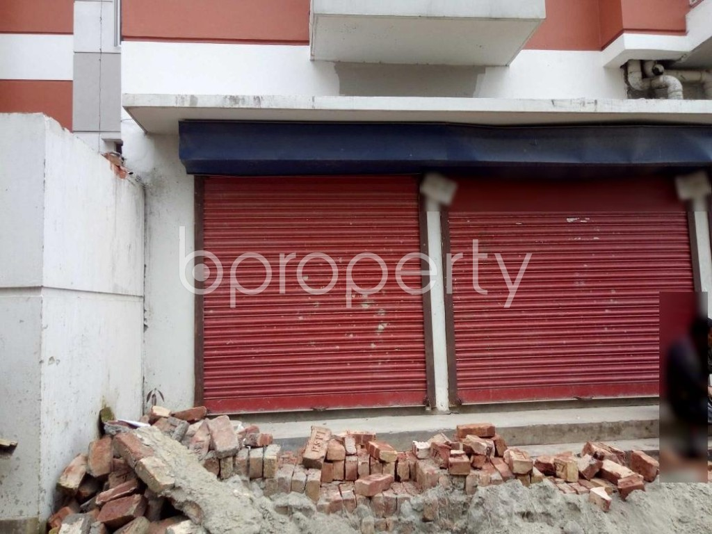 Front view - Shop to Rent in Badda, Dhaka - 1903425