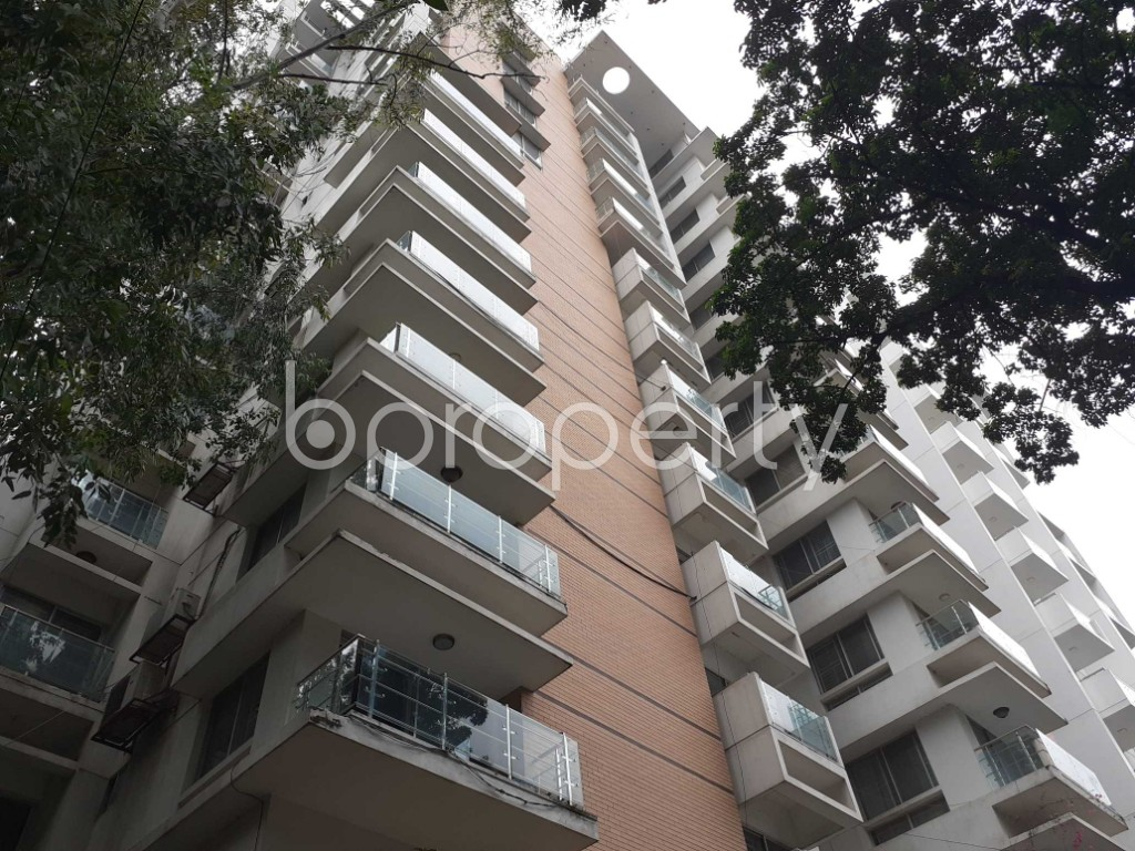Outside view - 4 Bed Apartment to Rent in Gulshan, Dhaka - 1903435