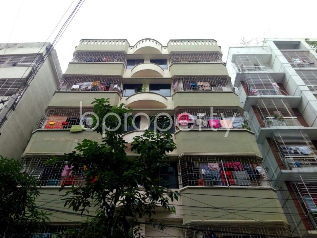 Front view - 3 Bed Apartment to Rent in Bashundhara R-A, Dhaka - 1903447