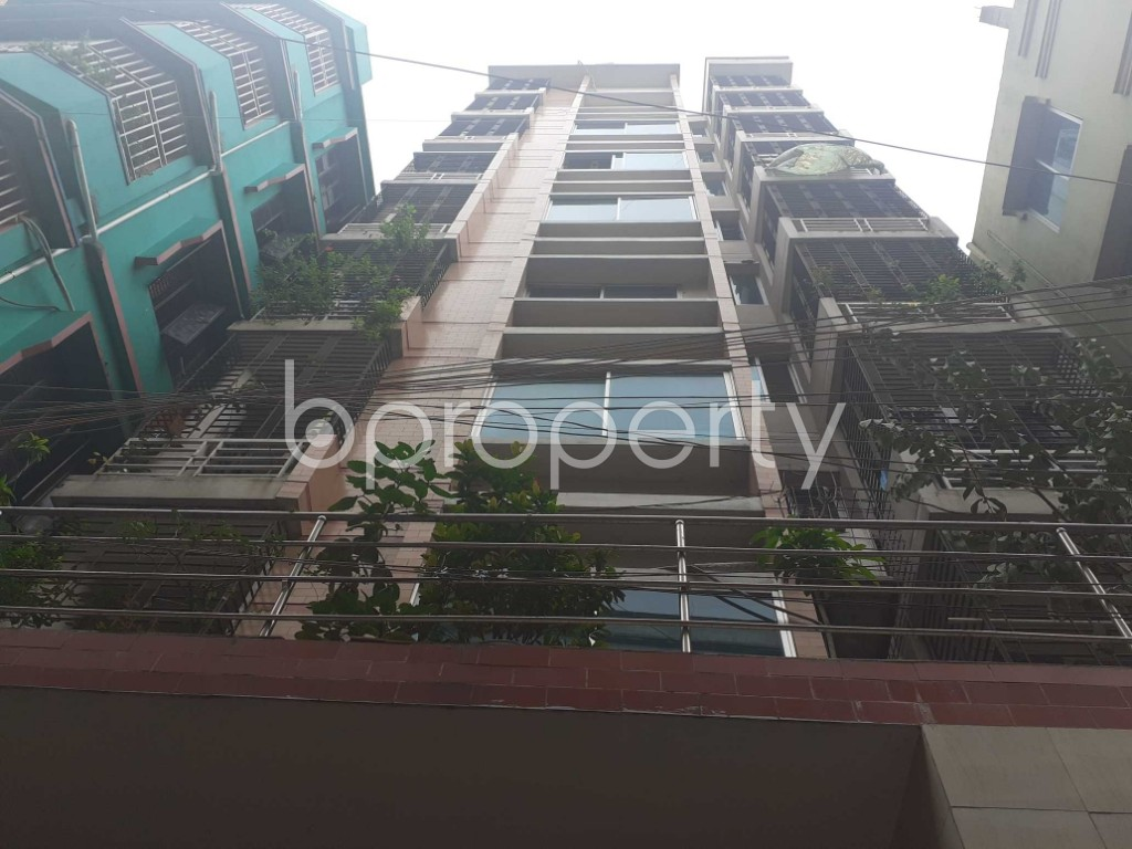 Front view - 3 Bed Apartment for Sale in Mugdapara, Dhaka - 1903450