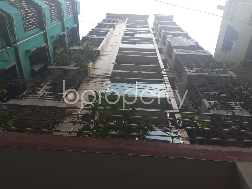 Front view - 3 Bed Apartment for Sale in Mugdapara, Dhaka - 1903455