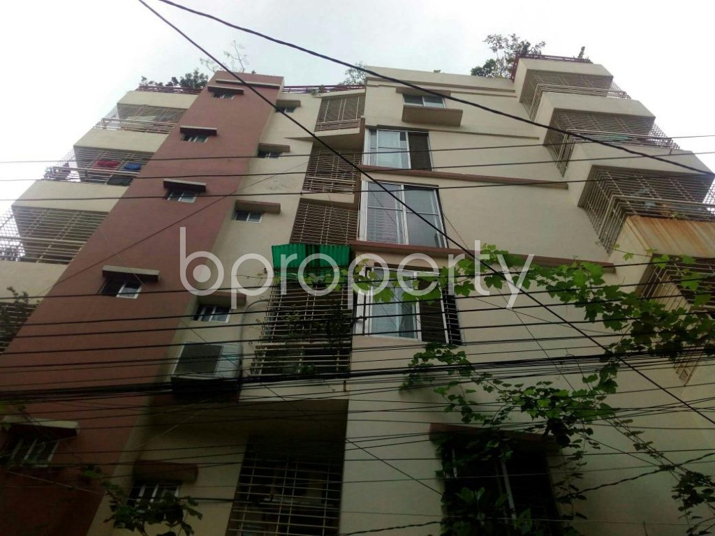 Front view - 2 Bed Apartment for Sale in Badda, Dhaka - 1903489