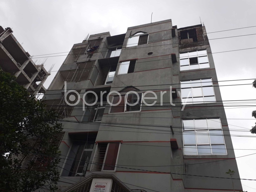 Front view - 3 Bed Apartment to Rent in Bashundhara R-A, Dhaka - 1903492