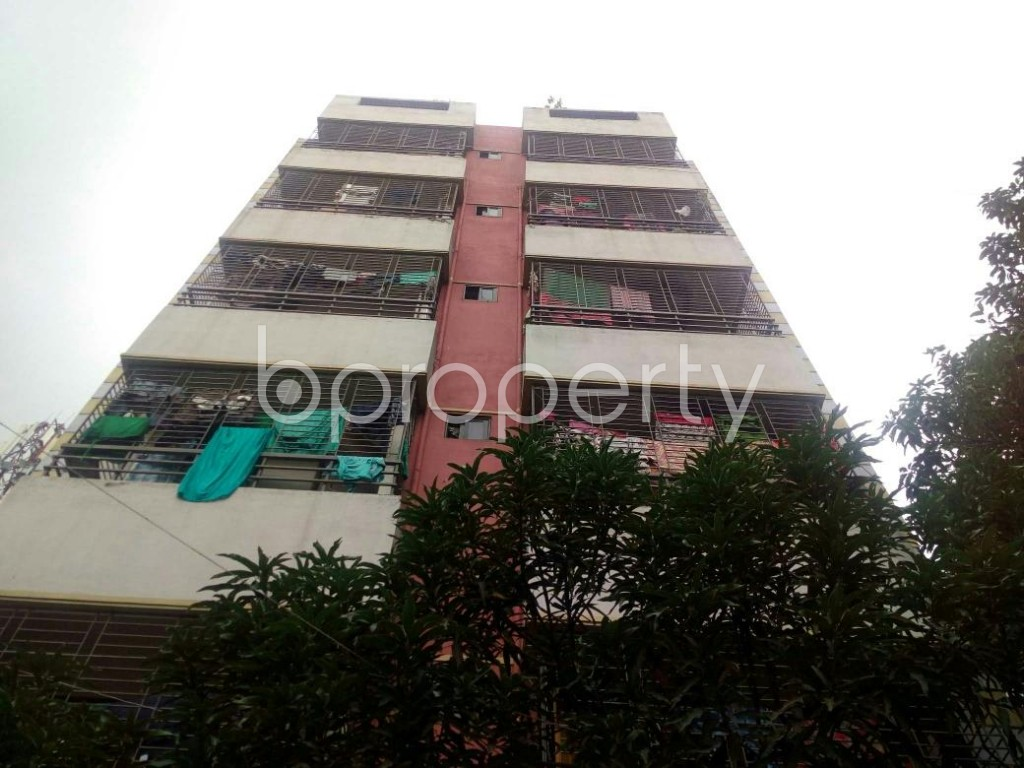 Front view - 2 Bed Apartment for Sale in Badda, Dhaka - 1903498