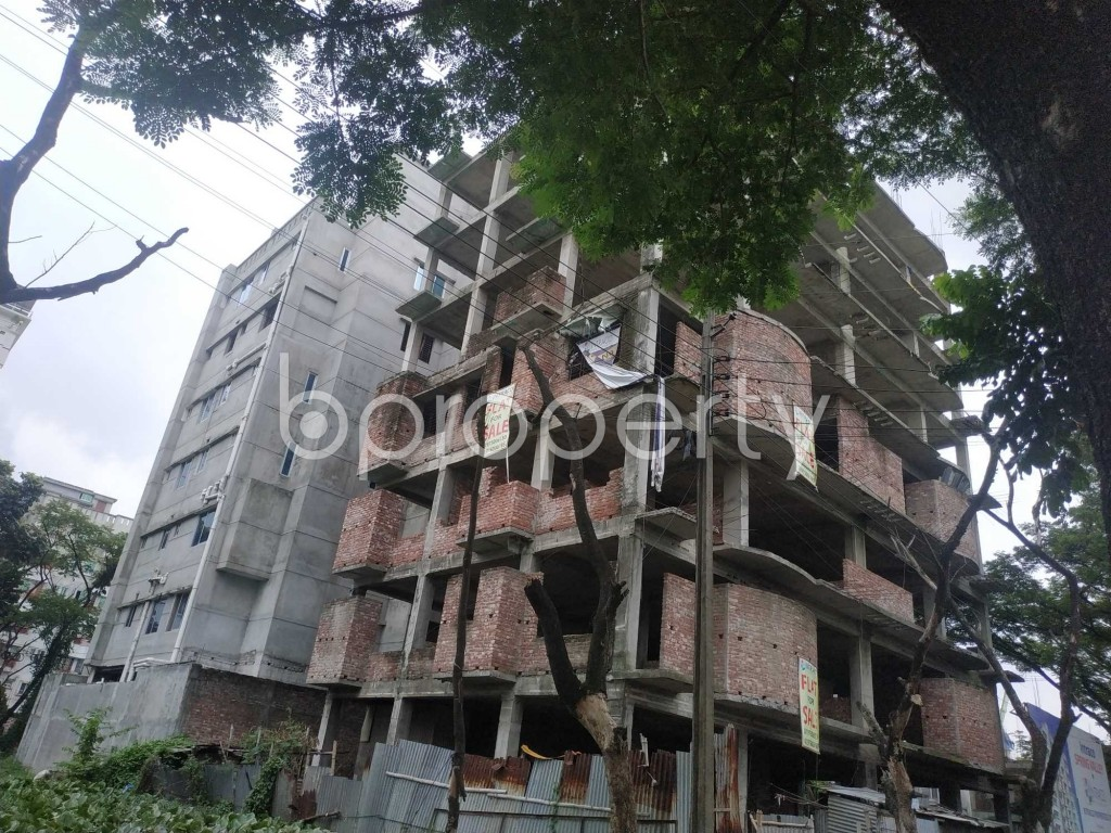 Front view - 3 Bed Apartment for Sale in Bashundhara R-A, Dhaka - 1903502