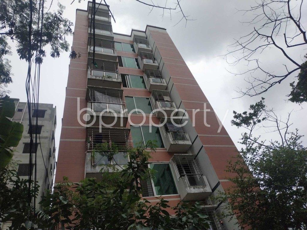 Front view - 3 Bed Apartment to Rent in Bashundhara R-A, Dhaka - 1903503
