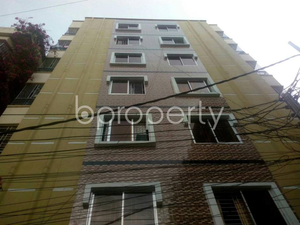 Front view - 3 Bed Apartment for Sale in Rampura, Dhaka - 1903519