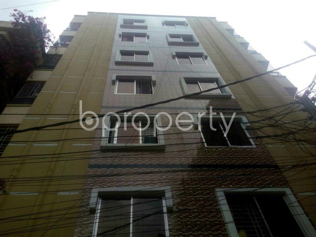 Front view - 3 Bed Apartment for Sale in Rampura, Dhaka - 1903521