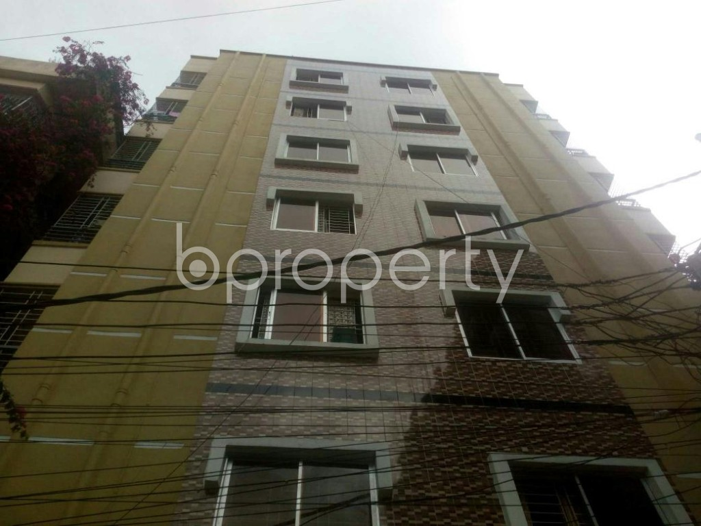Front view - 3 Bed Apartment for Sale in Rampura, Dhaka - 1903522