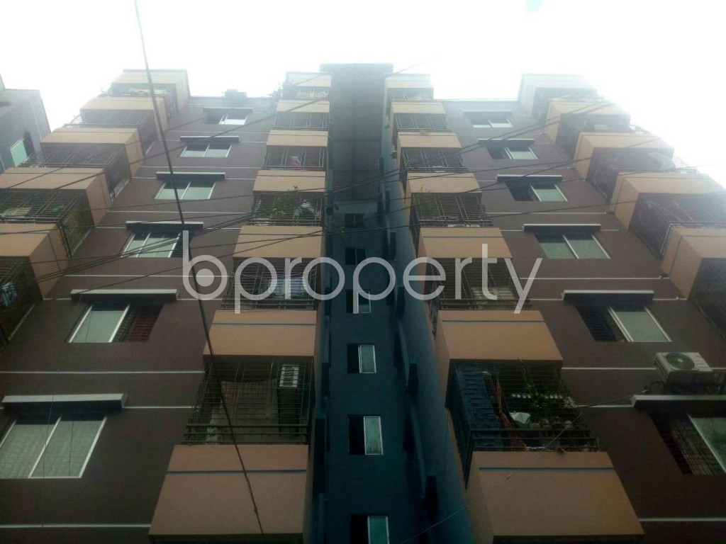 Front view - 3 Bed Apartment for Sale in Rampura, Dhaka - 1903565