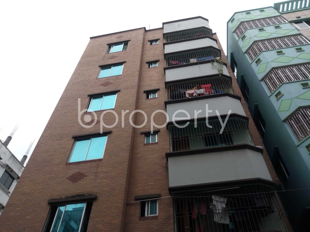 Outside view - 2 Bed Apartment to Rent in Nikunja, Dhaka - 1903590