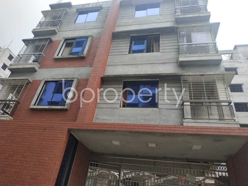 Front view - 1 Bed Apartment to Rent in Bashundhara R-A, Dhaka - 1903612