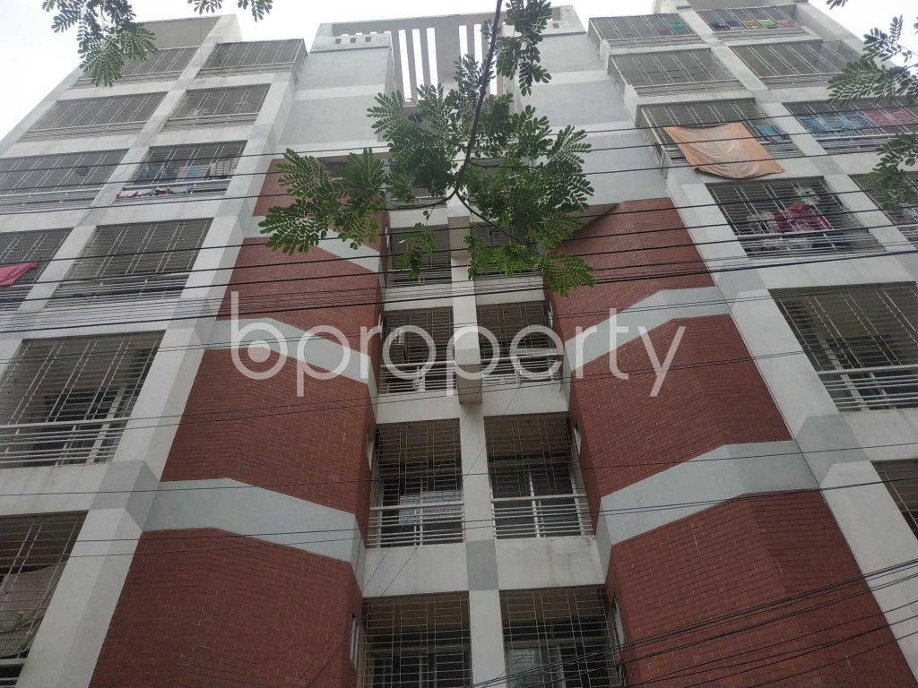 Front view - 3 Bed Apartment to Rent in Bashundhara R-A, Dhaka - 1903614