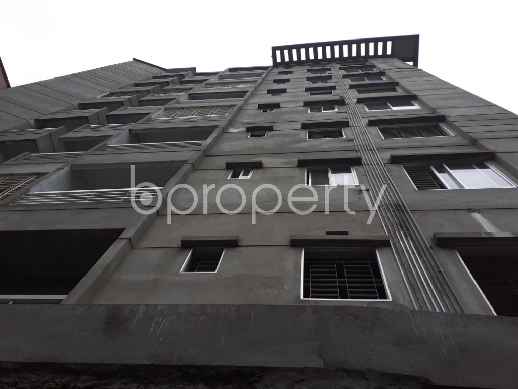 Front view - 2 Bed Apartment for Sale in Malibagh, Dhaka - 1903691