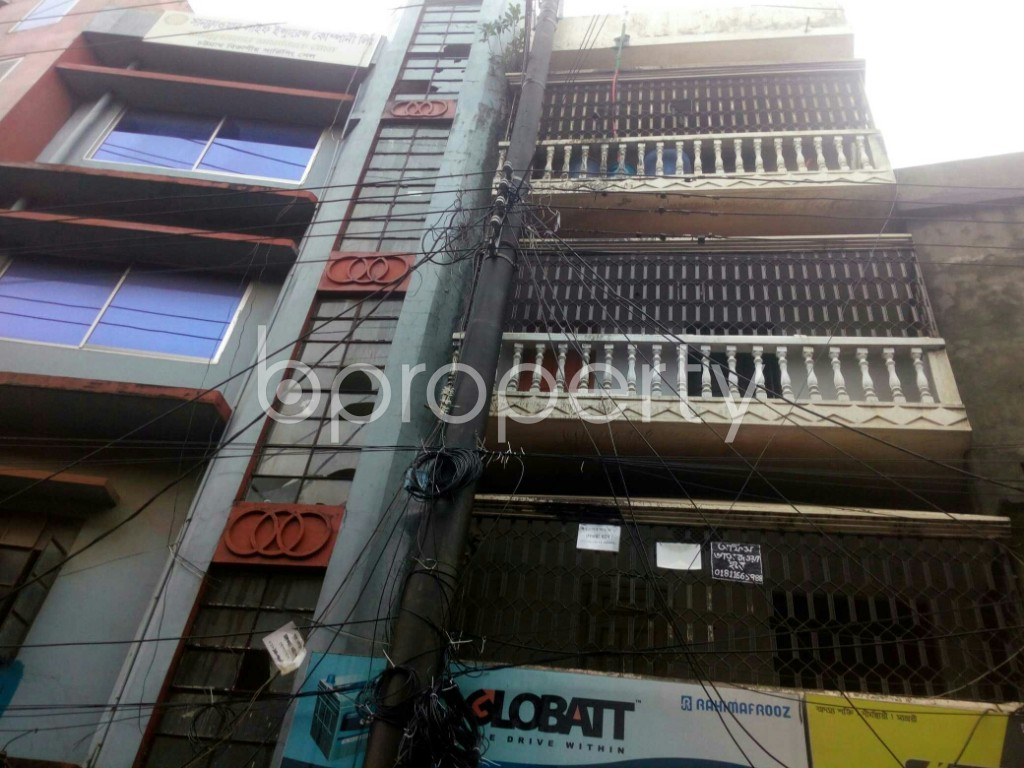 Outside view - Shop to Rent in Aftab Nagar, Dhaka - 1903131