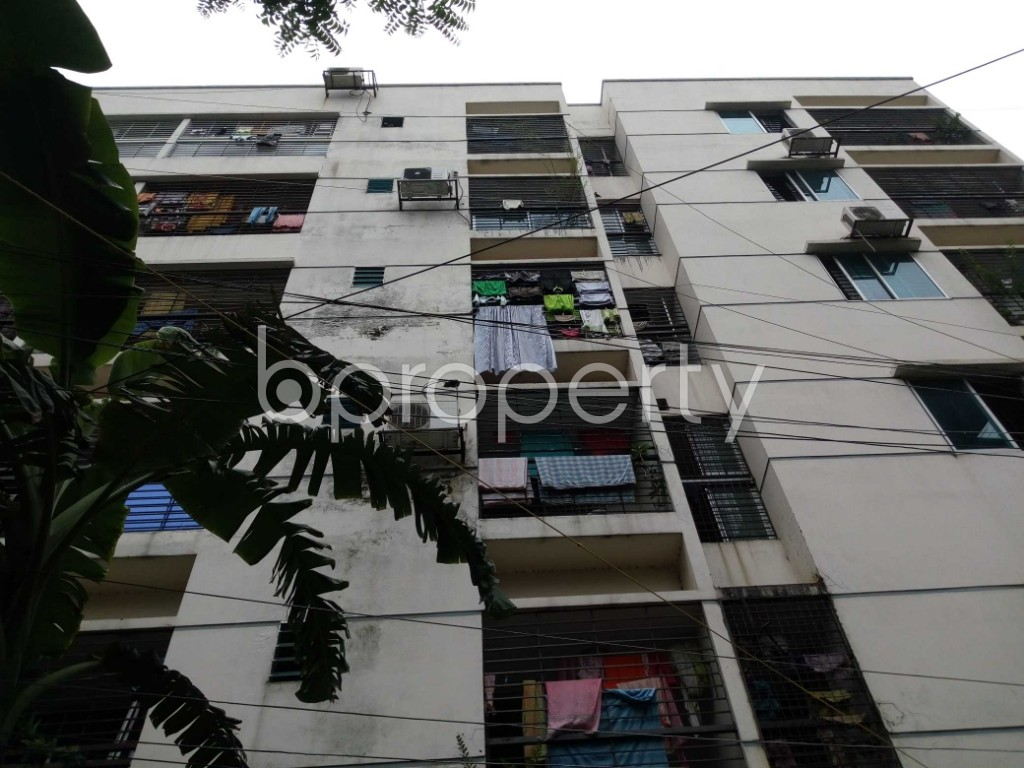 Front view - 3 Bed Apartment for Sale in Ibrahimpur, Dhaka - 1903899