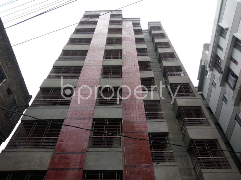 Front view - 3 Bed Apartment for Sale in Ibrahimpur, Dhaka - 1903961