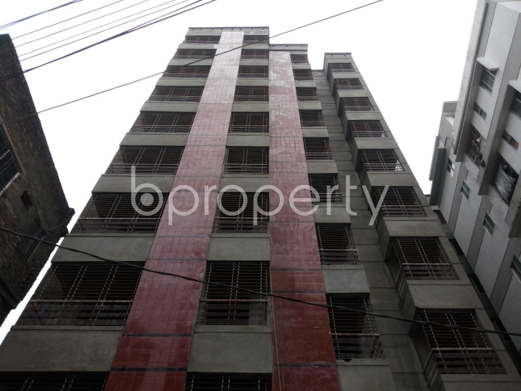 Front view - 3 Bed Apartment for Sale in Ibrahimpur, Dhaka - 1903964