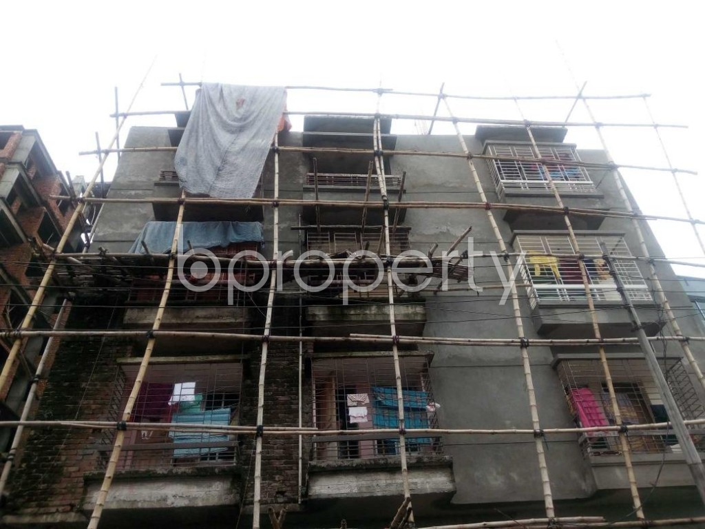 Front view - 2 Bed Apartment for Sale in Aftab Nagar, Dhaka - 1904032