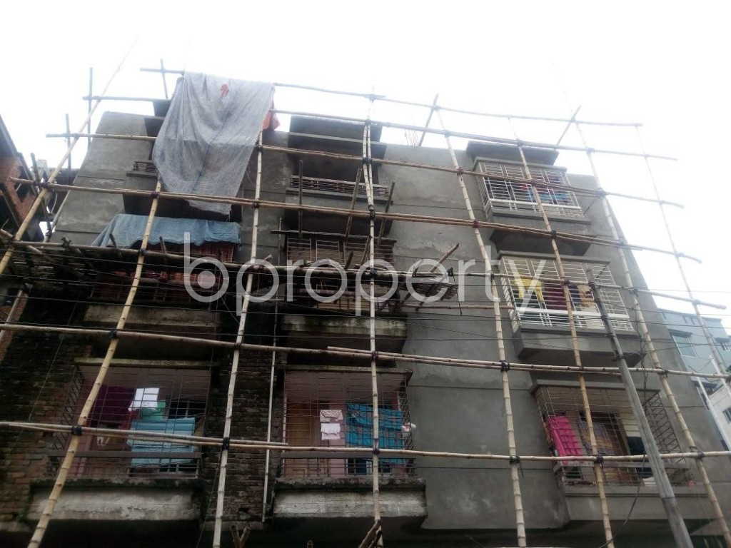 Front view - 2 Bed Apartment for Sale in Aftab Nagar, Dhaka - 1904034