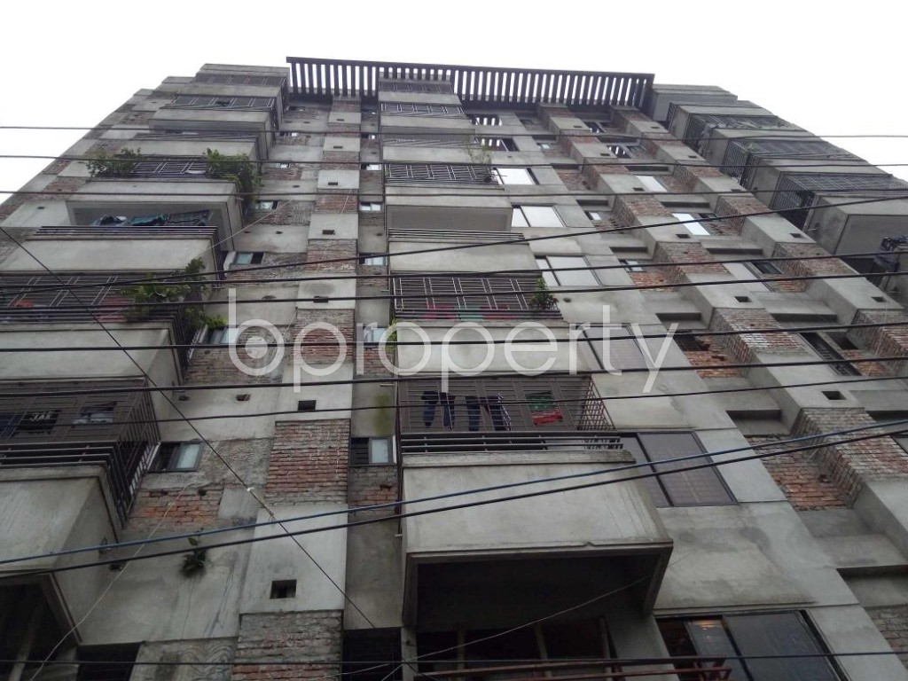 Front view - 3 Bed Apartment for Sale in Tejgaon, Dhaka - 1904147