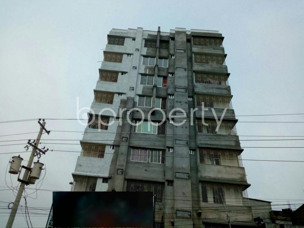 Front view - 3 Bed Apartment for Sale in Gazipur Sadar Upazila, Gazipur - 1904623