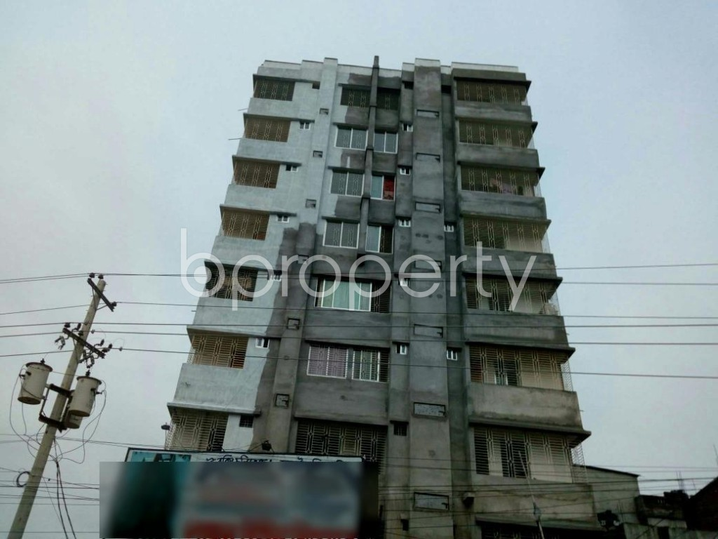 Front view - 2 Bed Apartment for Sale in Gazipur Sadar Upazila, Gazipur - 1904625